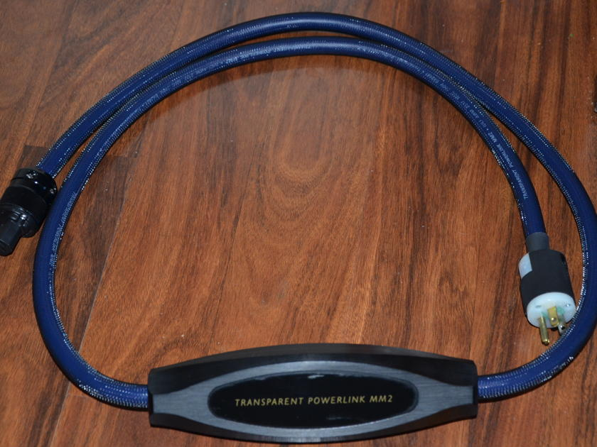 Transparent Cable PowerLink MM2 Top of the lines current model  Mint Condition $2,200.00 Retail