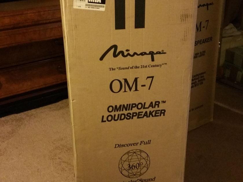 Mirage OM-7 (Black High Gloss) Omnipolar Loudspeaker