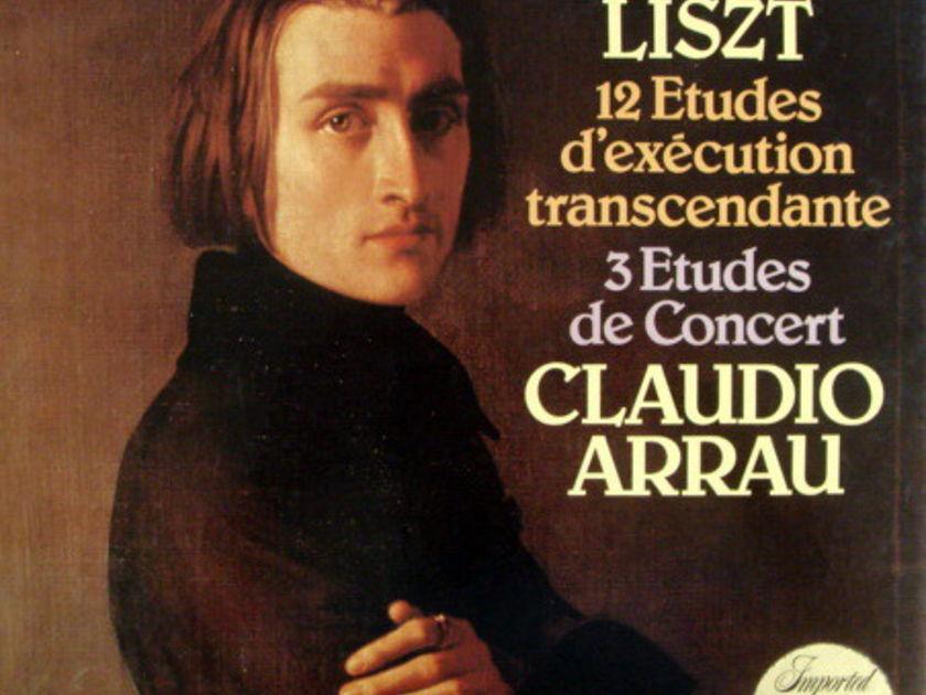 Philips / ARRAU, - Liszt 12 & 3 Etudes, MINT, 2LP Box Set!