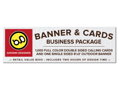 Graphic Design, Business Cards and Banner