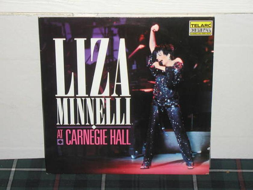 Liza Minelli - At Carnegie Hall (Pics) Telarc dg-15502 (2 lp)
