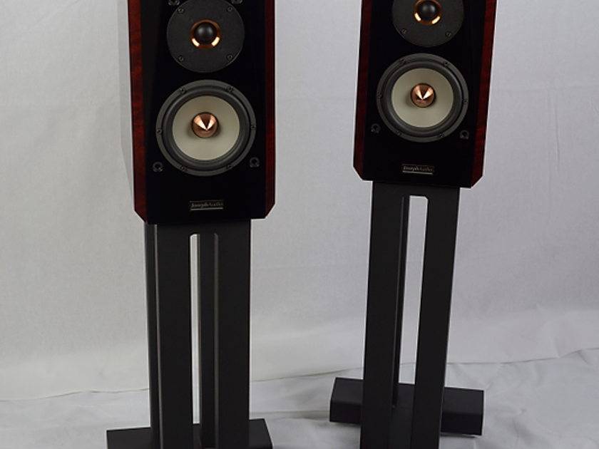 Joseph Audio Pulsar Reference Loudspeaker with Custom SA Stand  Sepele Wood (Dealer Demo)