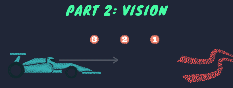 vision while overtaking