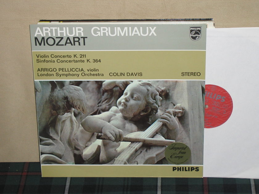 Grumiaux/Davis/LSO - Mozart Violin Cto K211 Philips Import LP 835 LY