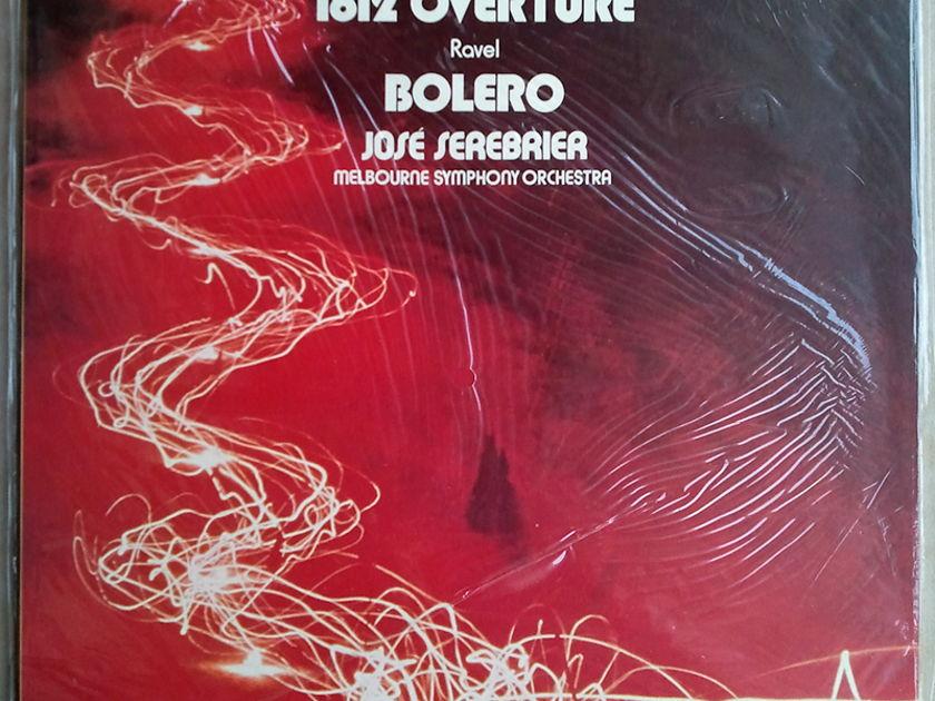 Sealed Tioch Digital | SEREBRIER/TCHAIKOVSKY - 1812 / RAVEL Bolero / Melbourne Symphony Orchestra