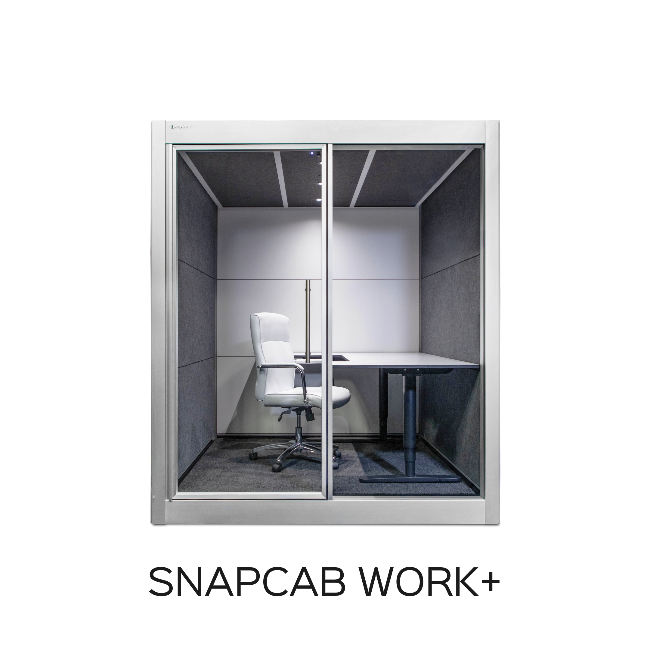 isolation pods for open offices - SnapCab Work+