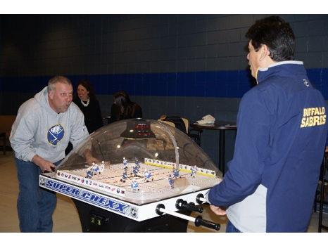 Buffalo Sabres Bubble Hockey Experience