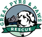 The Great Pyrs and Paws Rescue logo