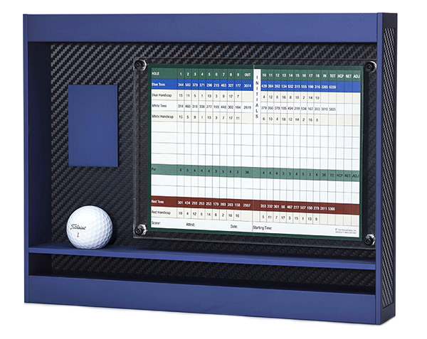 golf ball display case aluminum
