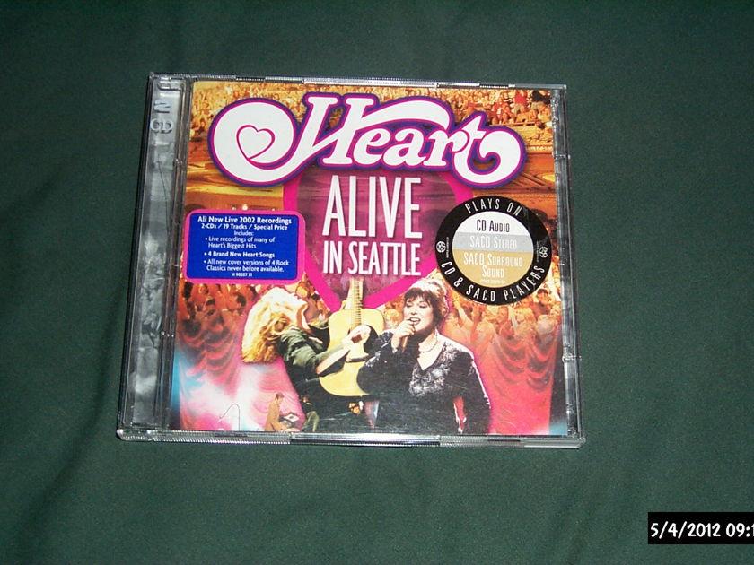 Heart - Alive In Seattle SACD Hybrid NM