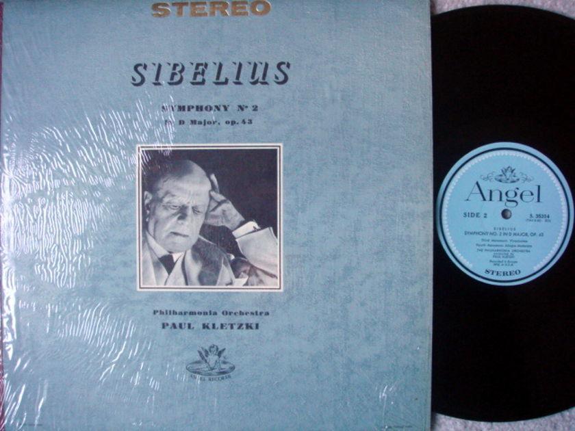 EMI Angel Blue / KLETZKI, - Sibelius Symphony No.2, NM!