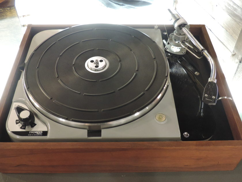 Thorens TD-124 mk II Turntable with SME 3009 Tonearm, Cleaned & Restored