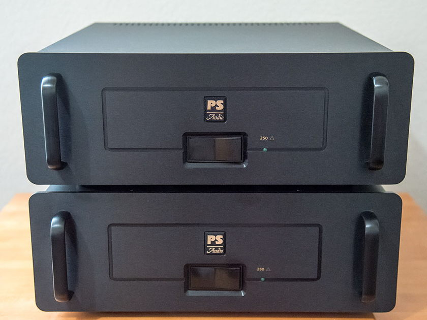 PS Audio 250 Monoblocks **REDUCED - Free Shipping**