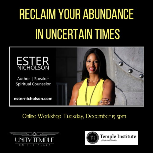Picture of Online Workshop facilitated by Ester Nicholson