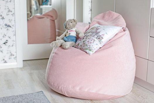 """Кресло-мешок """"Дели"""" розовый"""