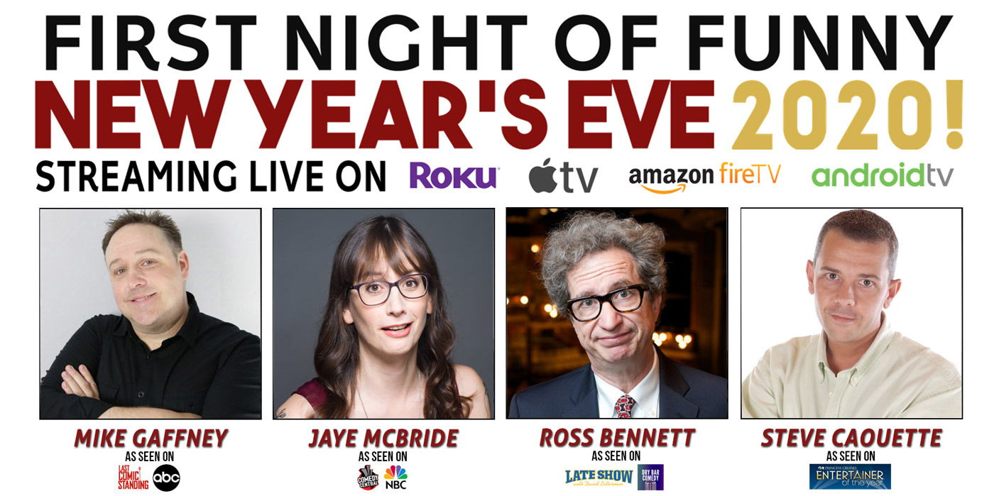 First Night of Funny Live Stream at the Shubert Theatre