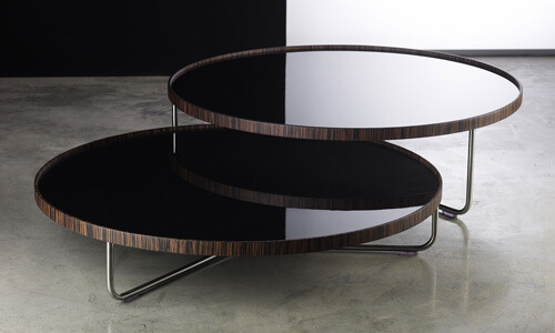 Modern Coffee Tables, Side & End Tables on Sale featuring Modloft Adelphi Nesting Coffee Table