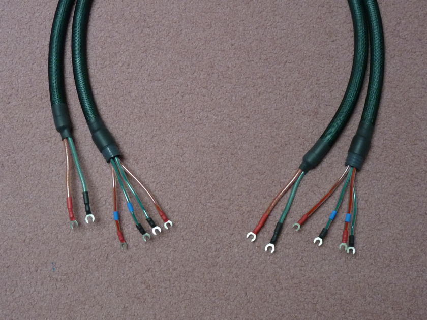 Neotech NES 3002  UPOCC copper 5 ft speaker cables-pair