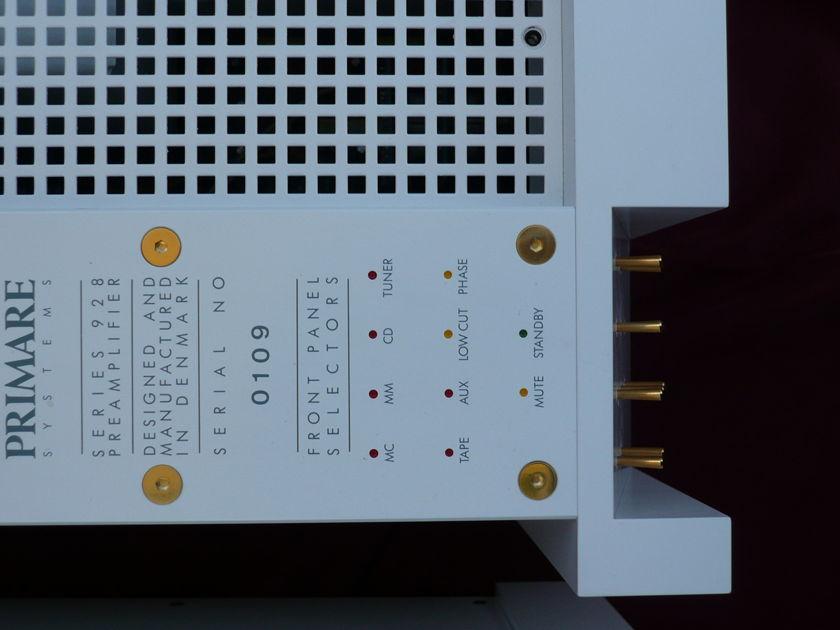 Primare 928 set Preamplifier/monoblocks White color