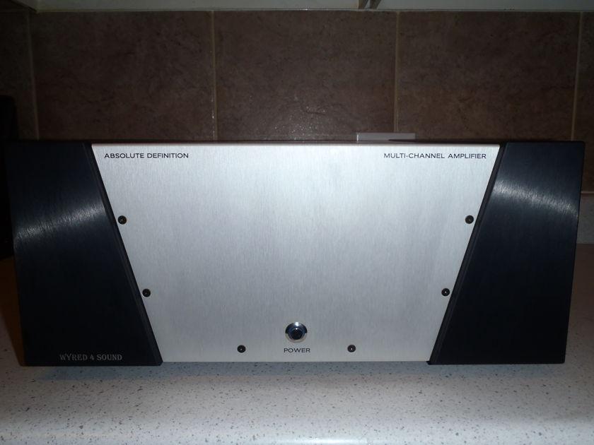 Wyred 4 Sound  6ch MC amp 2x500+2x250+2x125 amp