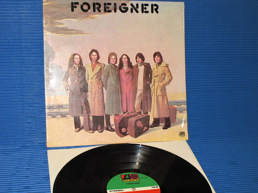 "FOREIGNER   - ""Foreigner"" -  Atlantic 1977"