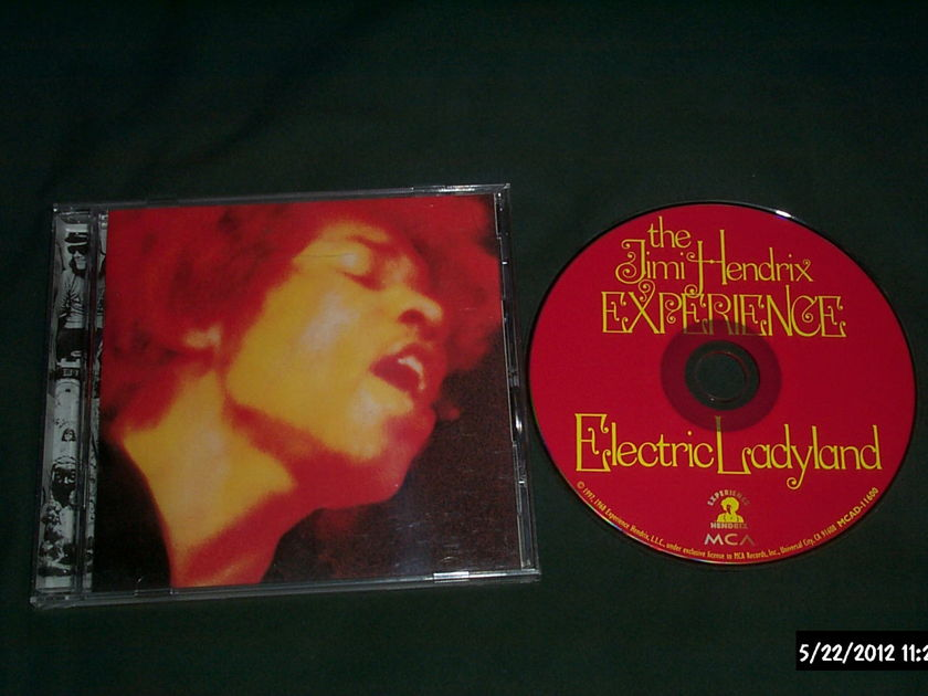 Jimi Hendrix - Electric Ladyland CD NM