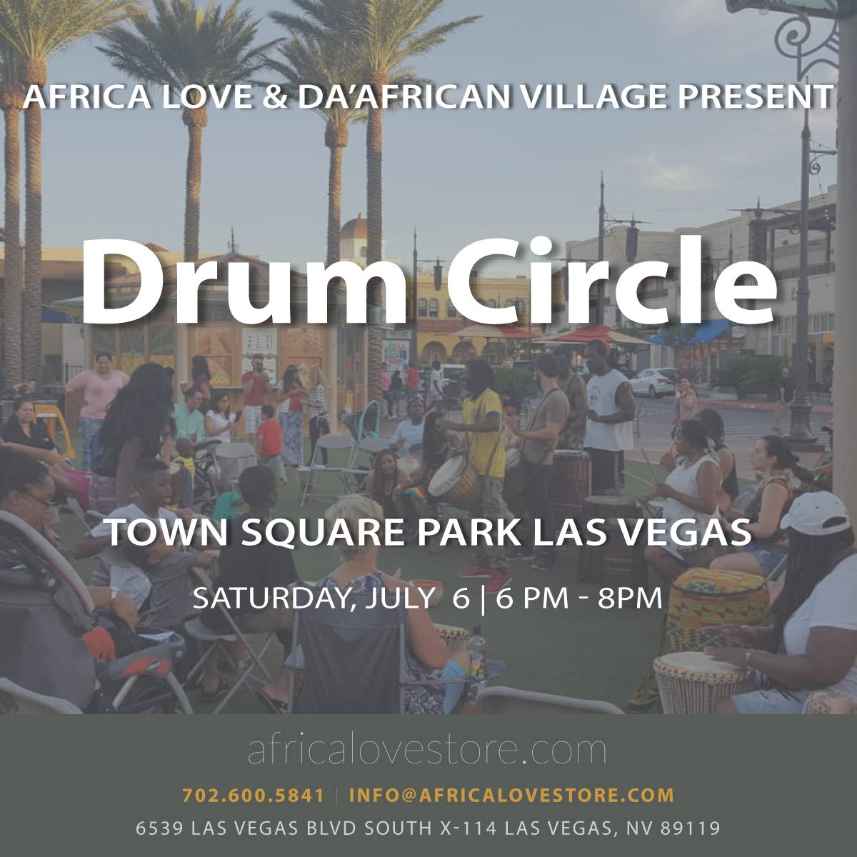 Weekly Drum Class at Africa Love