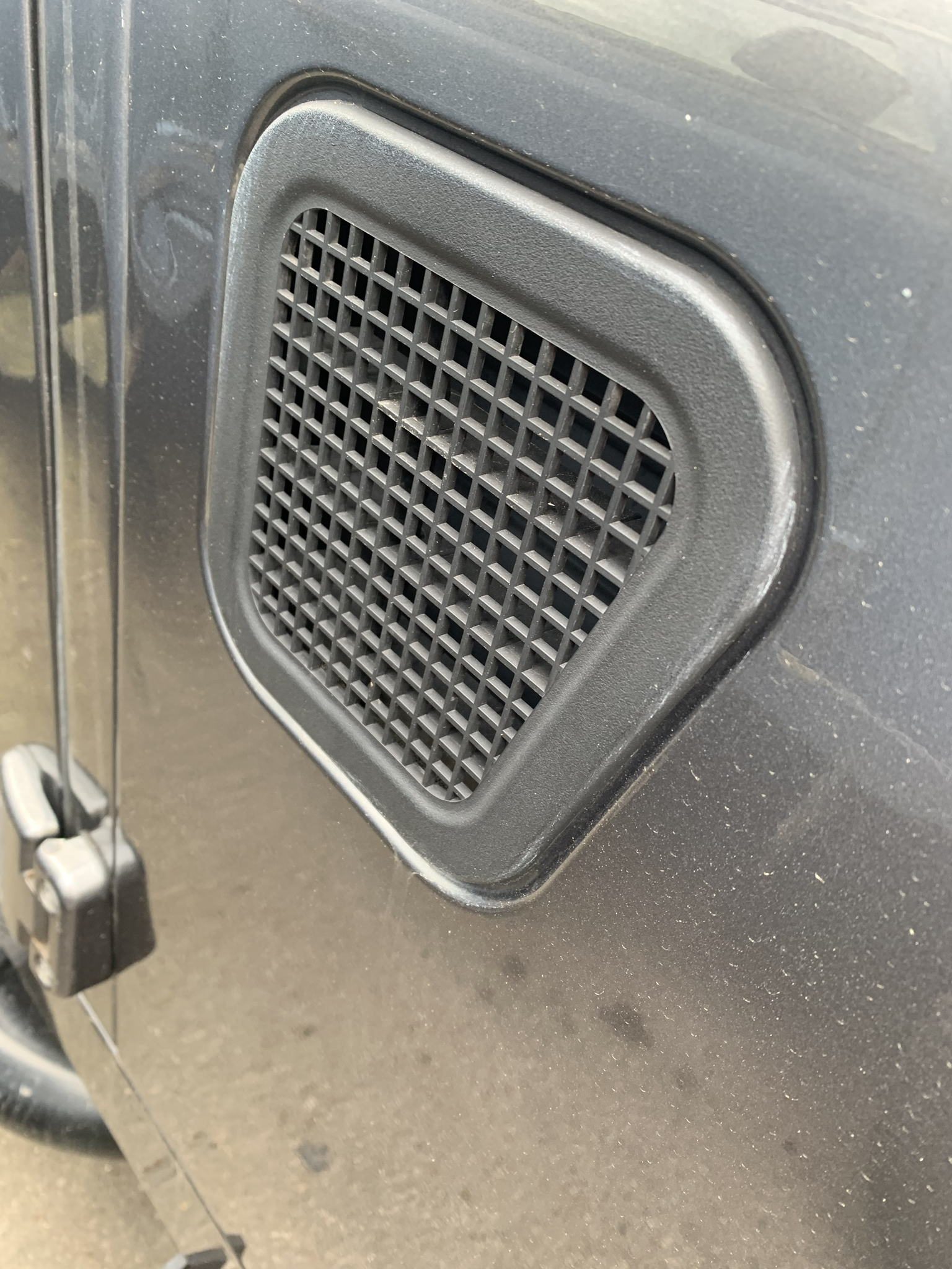 Genuine Land Rover Defender wing top and side vents's featured image