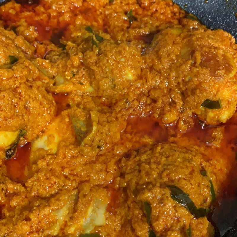 Chicken Rendang for dinner💃