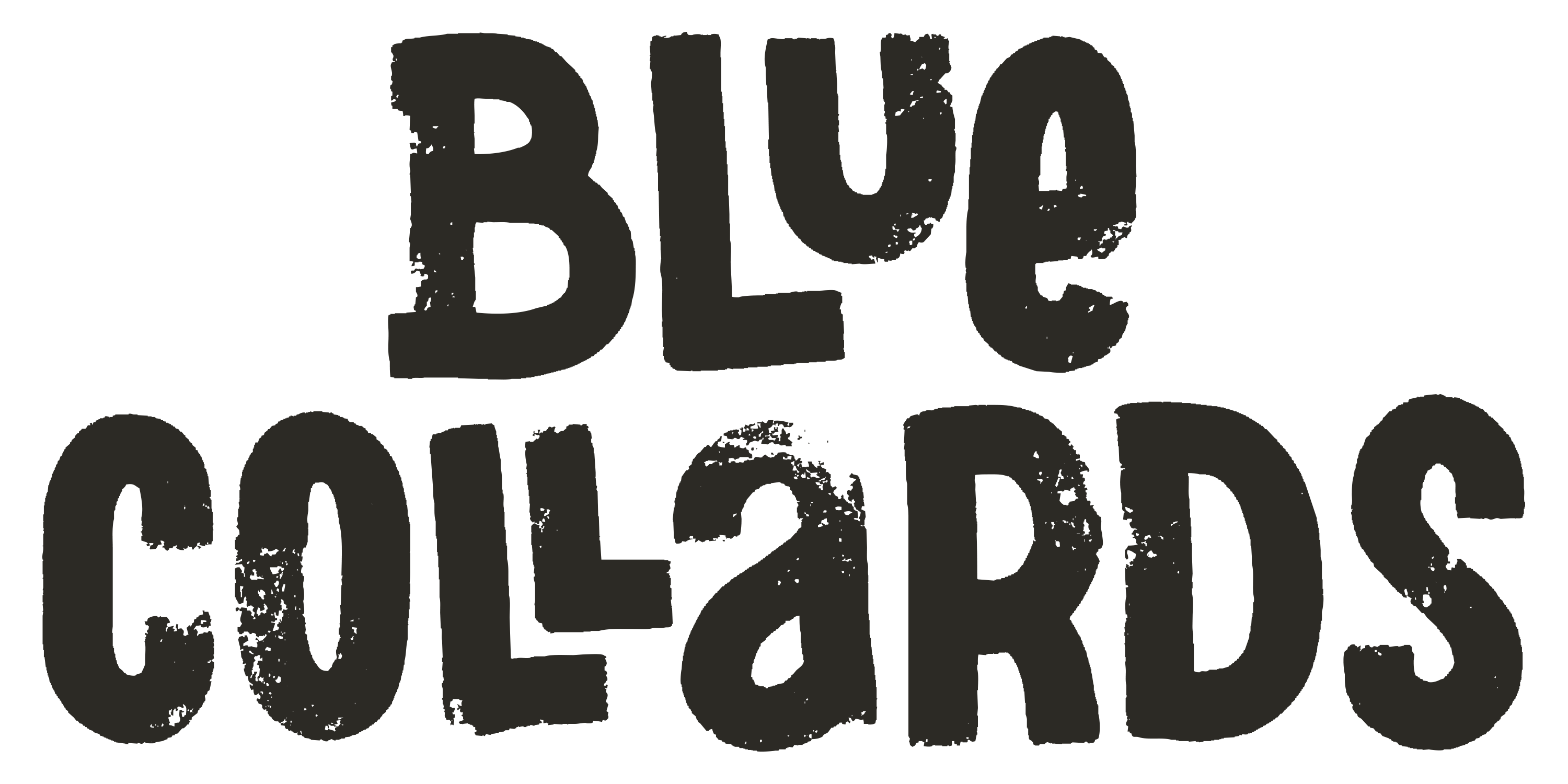 Bluecollardslogo black