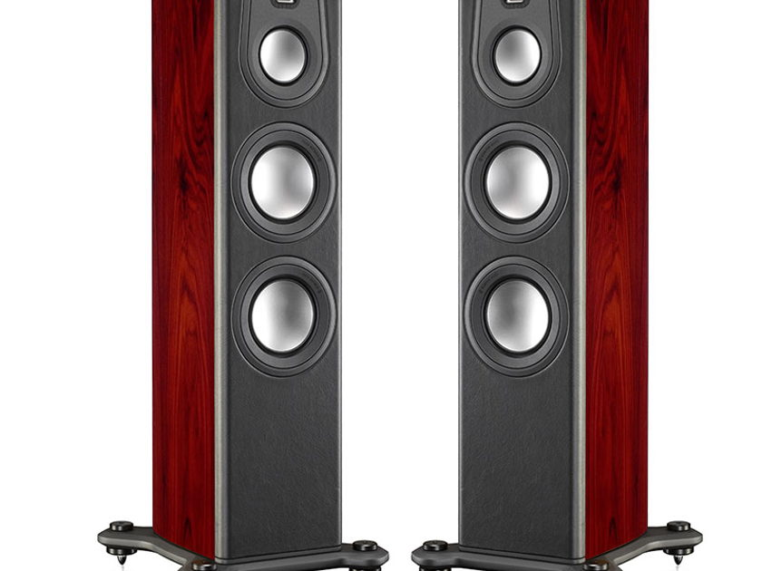 MONITOR AUDIO Platinum 200 Series-II Floorstanding Loudspeakers (Rosewood): Mint DEMO's; 1 Yr Warranty; 30% Off; Free Ship