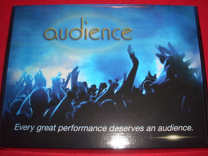 AUDIENCE AU24 SE *BRAND NEW IN BOX* 1 METER PAIR W/RCAs