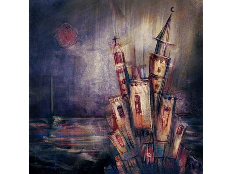 Mohamad Hafez Original Painting - Sketch #2