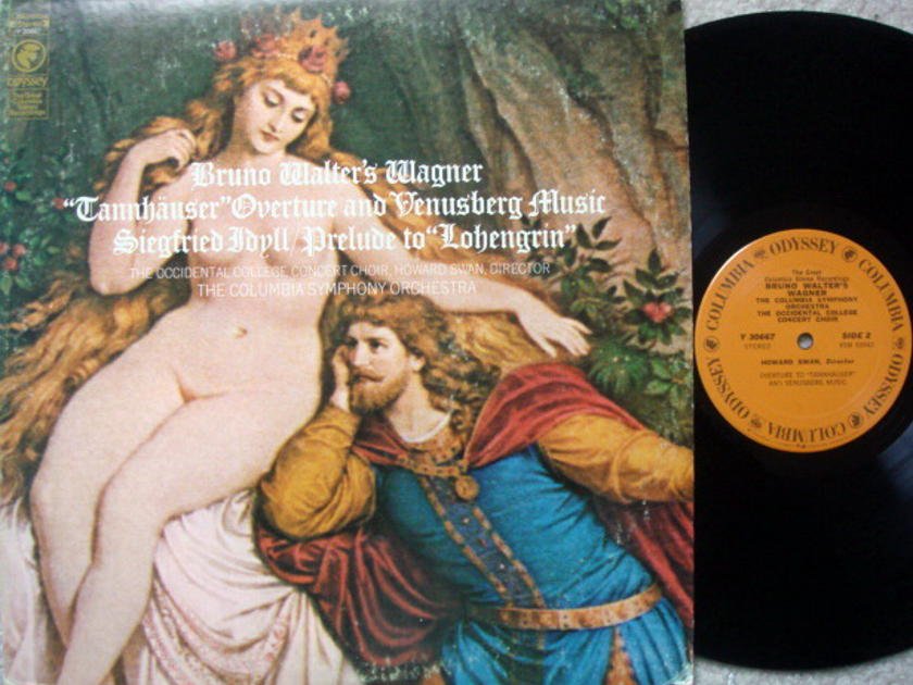 Columbia Odyssey / BRUNO WALTER, - Wagner Prelude to Lohengrin, MINT!