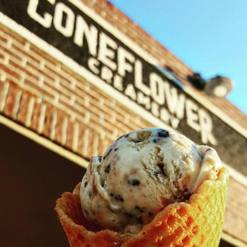 Picture of Coneflower Creamery is open for curbside delivery
