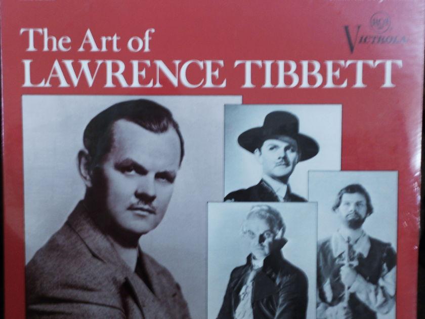 FACTORY SEALED ~ THE ART OF LAWRENCE TIBBETT ~  - IMMORTAL PERFORMENCES RCA VICS 1340 (e) (1968)