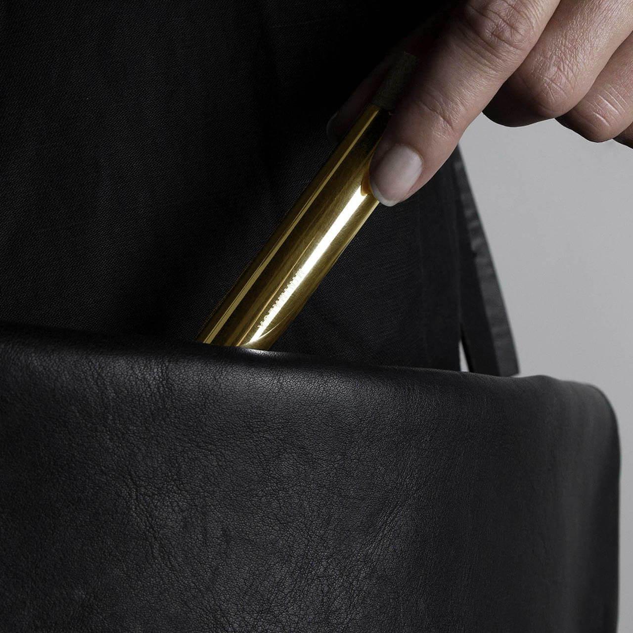 Gold Pill Tube in bag