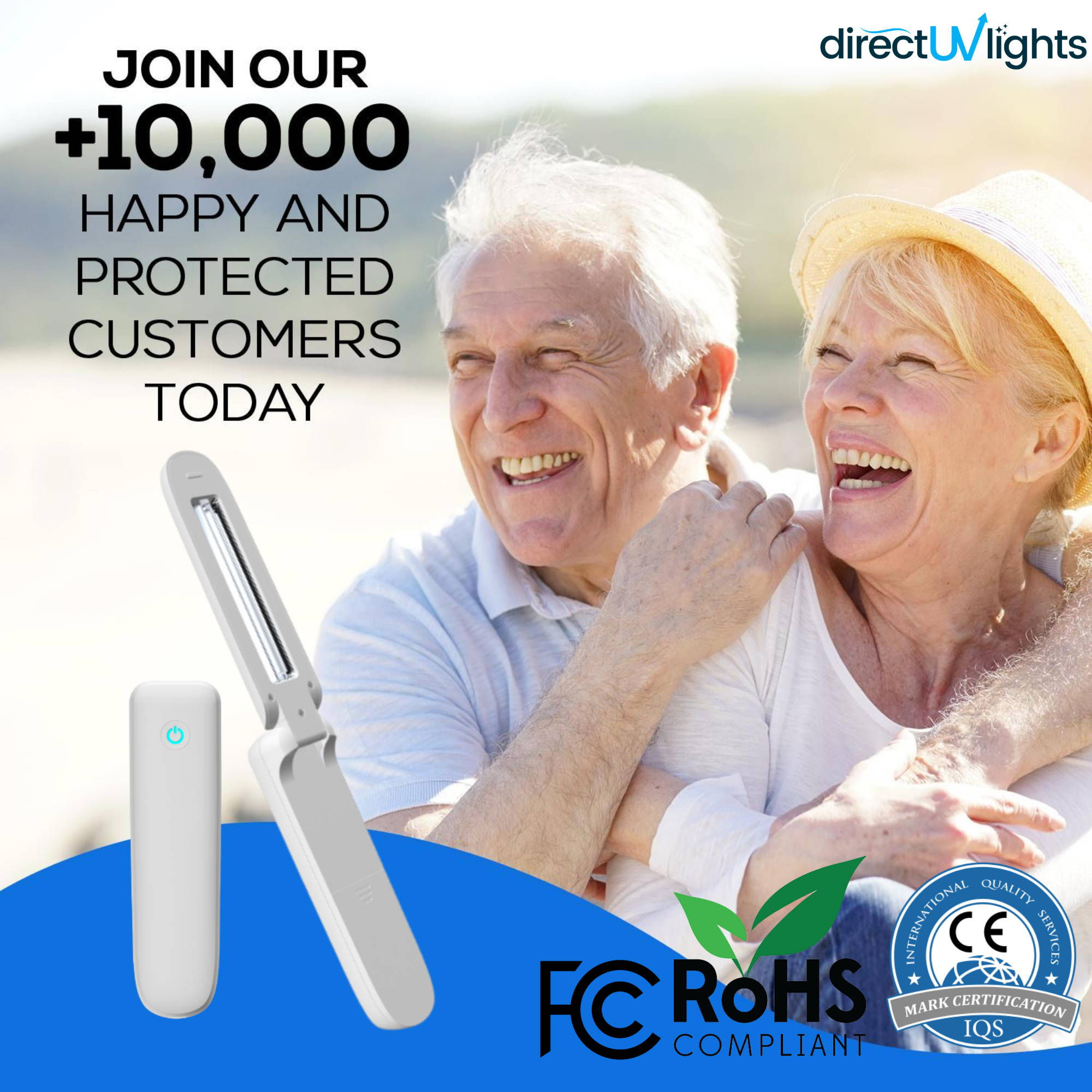 UVC Light Sanitizer, uv c light products, uv handheld sanitizer, uvc handheld unit, ultraviolet wand,