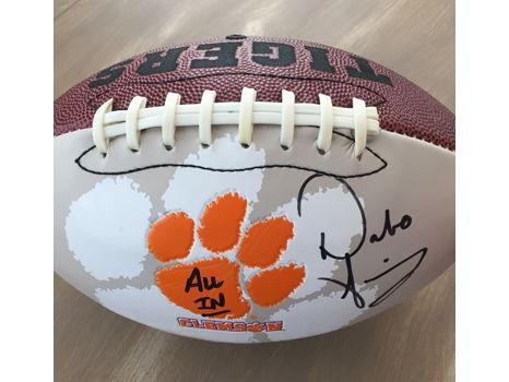 Coach Dabo Swinney Autographed Clemson Football