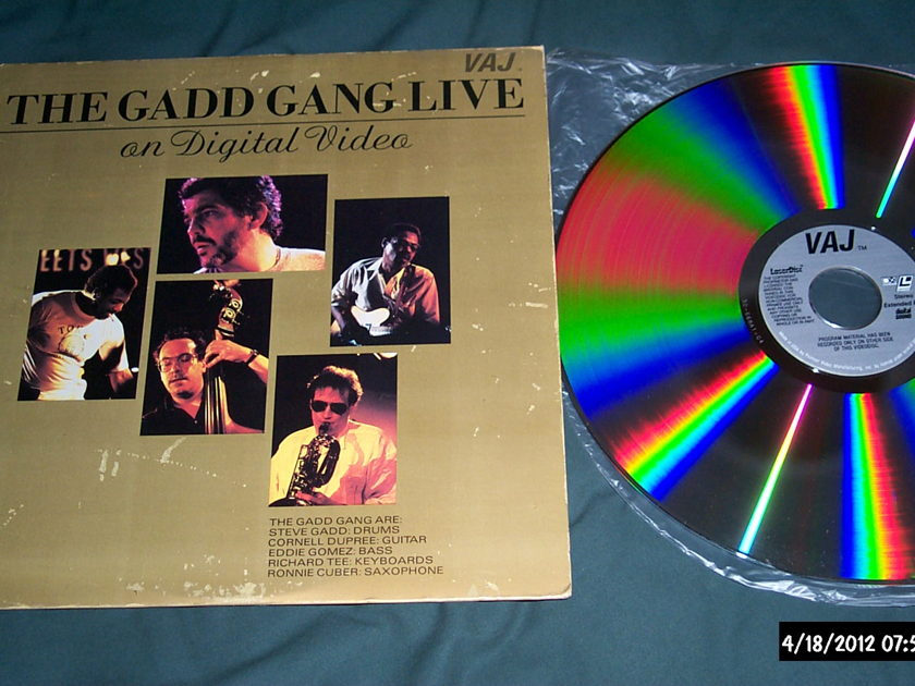 Steve Gadd - The Gadd Gang Live On Digital Video Laserdisc