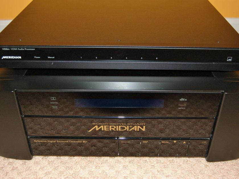 Meridian 861v4 + HD 621 HDMI switcher excellent OBM + remote