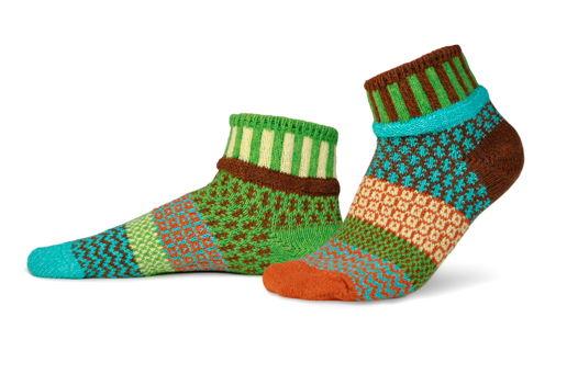 Разнопарные носки Solmate Socks - Trillium
