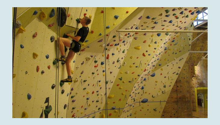 bester geburtstagde t hall kletterhalle wand kletterer seile