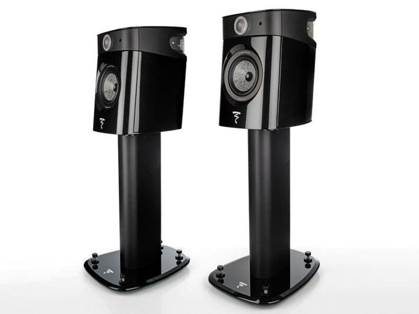 Focal Sopra No1 Compact Monitor Pair Black w/ Stands NEW, OPEN BOX