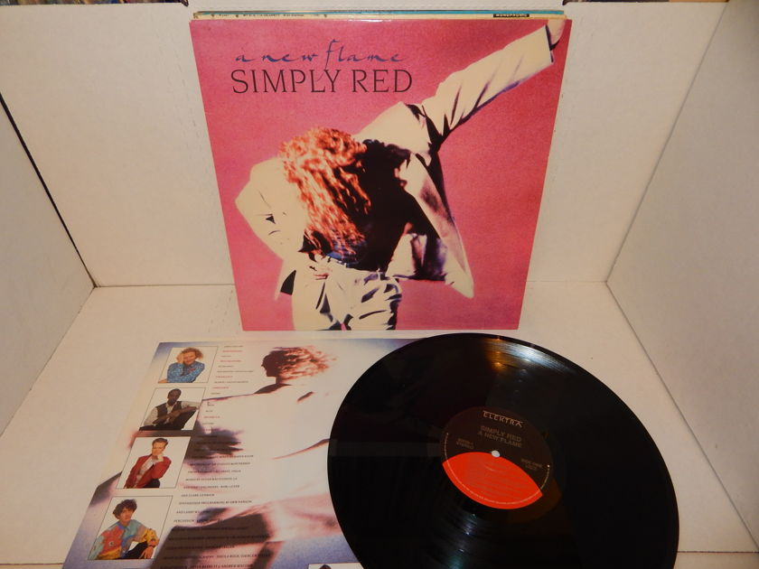 Simply Red  - A New Flame LP NM