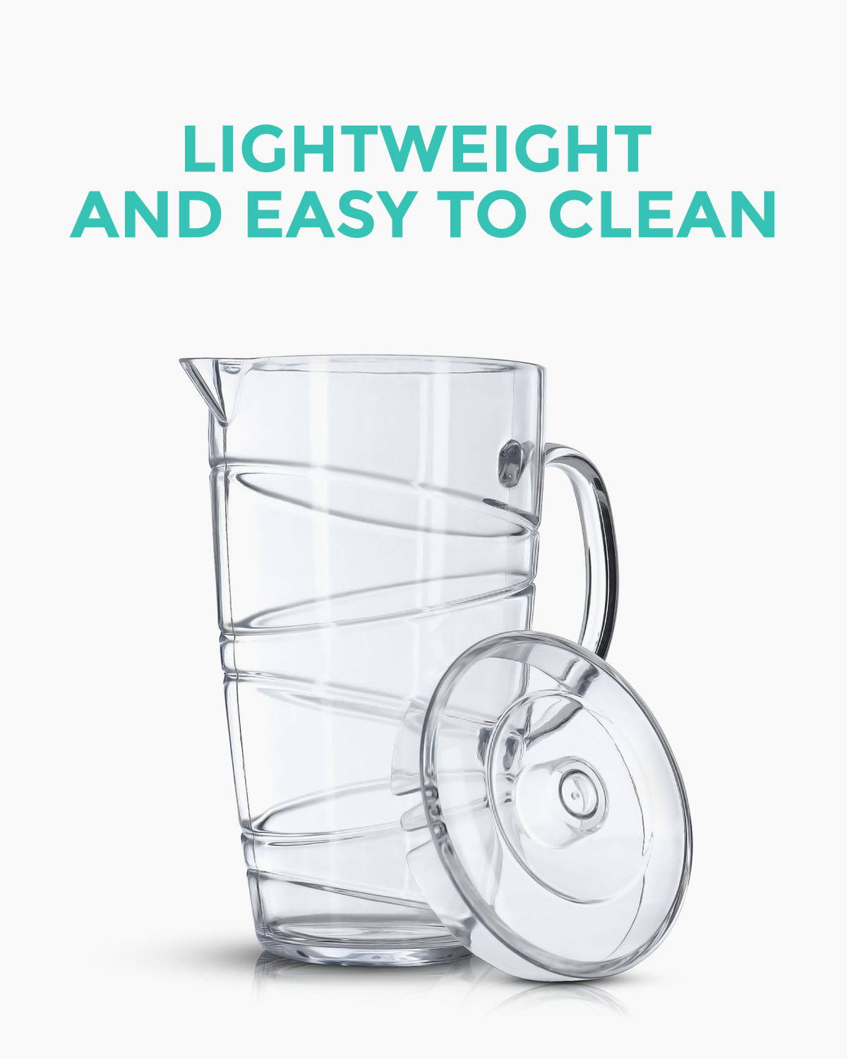 Lightweight and Easy to Clean