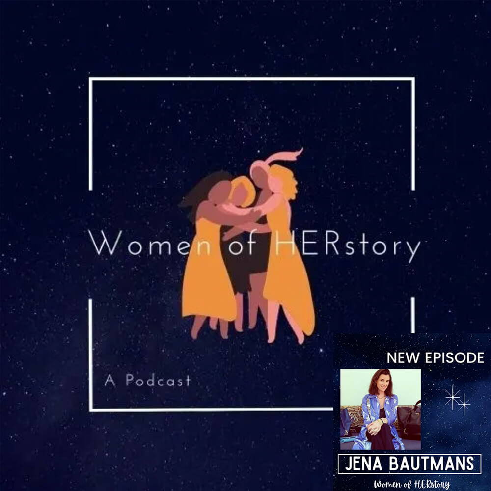 Jena Bautmans, founder of Jenah St. interview for Women of HER story podcast