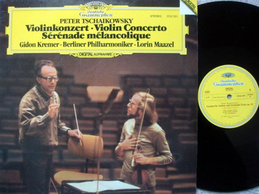 DG Digital / Tchaikovsky Violin Concerto, - KREMER/MAAZEL/BPO, MINT!