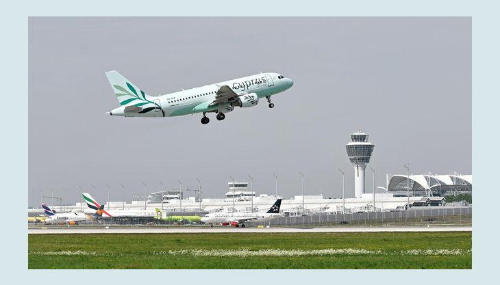 bester geburtstagde flughafen münchen impressionen take off cyprus flugzeug
