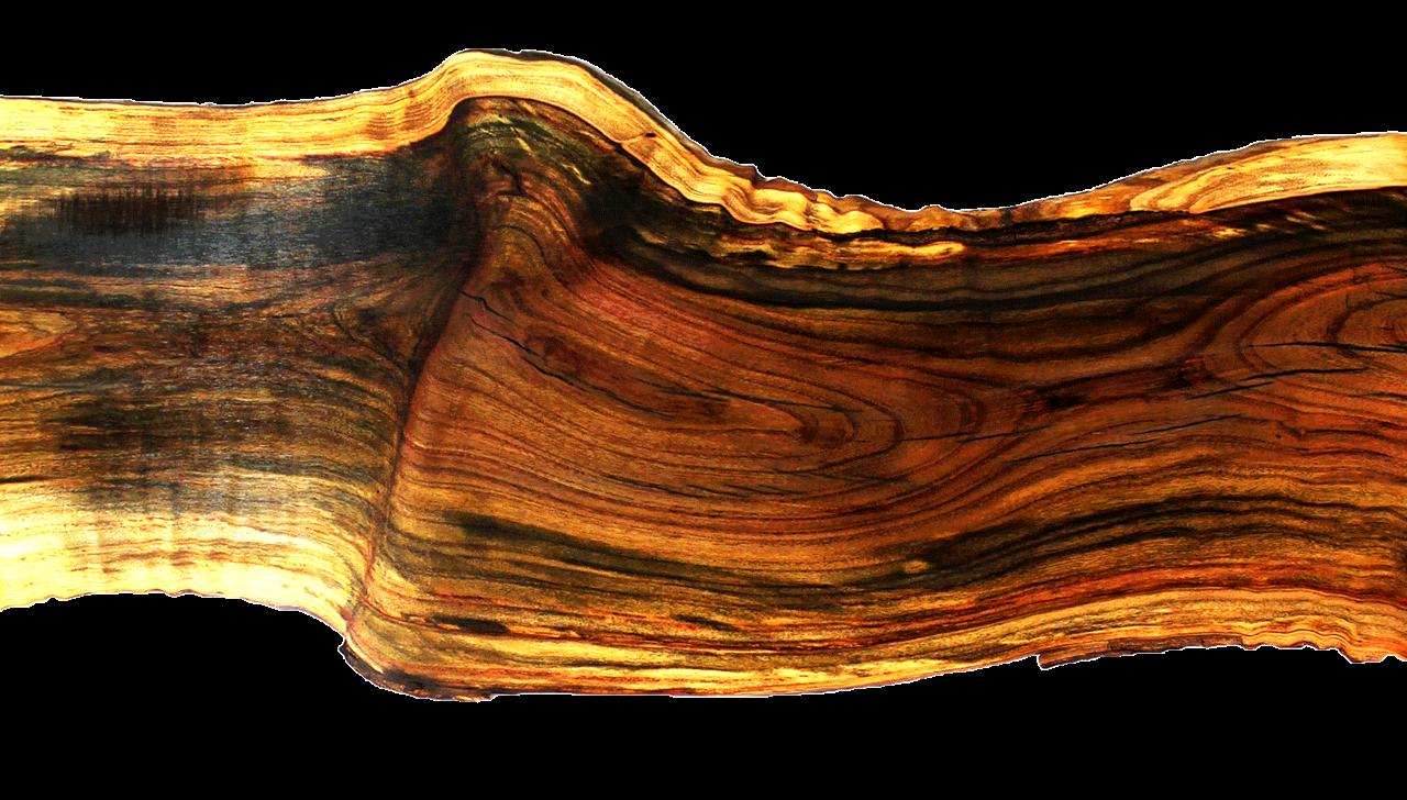 Pistachio wood slab